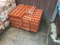 160 red engineered bricks for sale