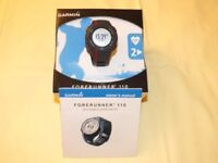 Garmin Forerunner110 GPS enabled sport watch with heart rate monitor