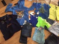 Huge bundle designer boys clothes age 9-13 years some BNWT summer