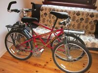 Mountain bikes (2) Kona Fire Mountain, hardly used. Recently serviced. Will sell separately.