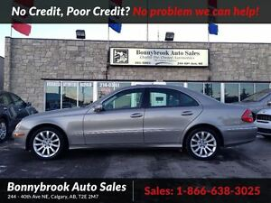2008 Mercedes-Benz E-Class 3.0L awd w navigation leather heated