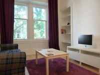 SHORT TERM LET: (Ref: 837) Buccleuch Terrace, Lovely 1 bed just by the Meadows