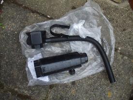 2 new water pipe drain pipe adaptors