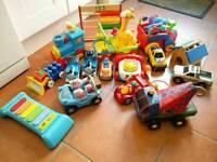Lots of kids toys - cars, Thomas, trains, peppa pig