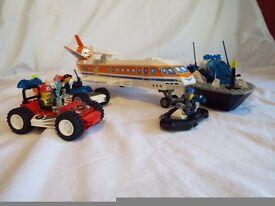 Lego - Jack Stone - Sets 4600, 4601, 4619 & 4669