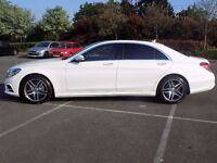 Mercedes S Class AMG from VIP Chauffeur Car Hire | Weddings | Airport Transfers | Prom | Eid