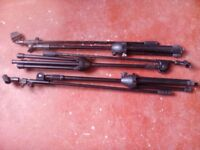 3 x Boom Microphone stands