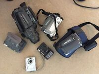 Camcorders and cameras