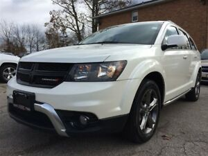 2017 Dodge Journey Crossroad**7 PASS**REAR VID*NAV**ROOF**