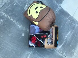 Kids heelys and kids sleeping bag-Carrickfergud