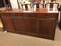 Chinese hardwood sideboard