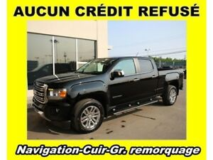 2016 GMC Canyon 4X4 GR. REMORQUAGE CUIR *NAVIGATION*
