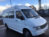 Mercedes Sprinter Mini Bus 1998 year - Parts Available