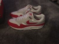 Nike air max 1 30th anniversary og red size 9
