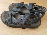 Mens summer sandals MBT size 9