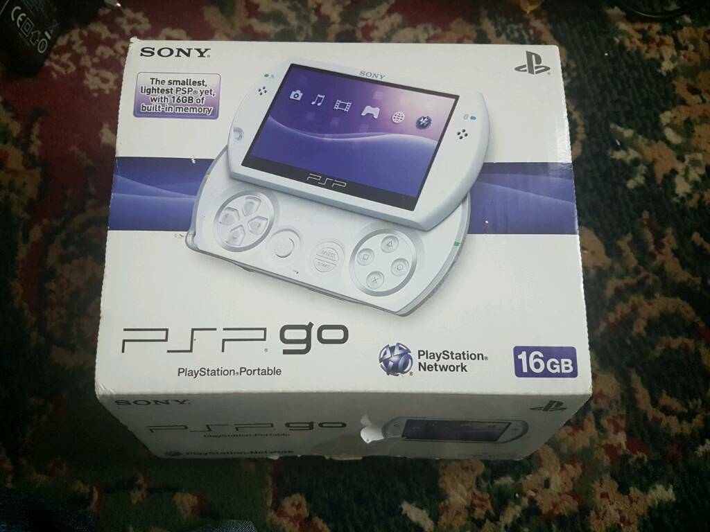 Psp go 16gb white boxed like new