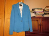 Papaya Bright Blue Summer Cotton Jacket Size 8