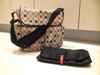 Skip hop changing bag and changing mat