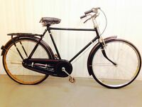Classic gents bike serviced road breaks Ideal for commuting