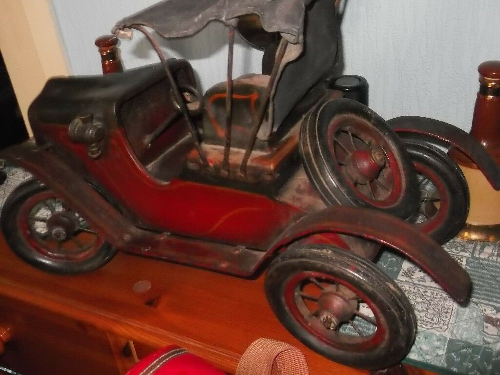 old antique custom built model of t ford