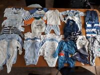 Baby boy clothing first size