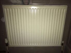 Single Radiator for sale 800mmX600mm with Brackets £10