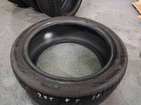 225/45/18 Hankook Ventus V12 tyre with 4mm