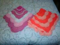 Hand crocheted baby item's