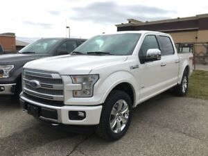 2017 Ford F-150 Platinum - DEMO VEHICLE!