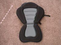 new kayak seat with storage bag on back unused