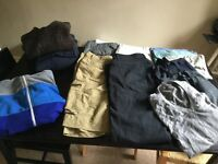 Men's clothing; size M; 13 items