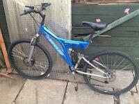 """18"""" men's bike, needs new back wheel £10"""