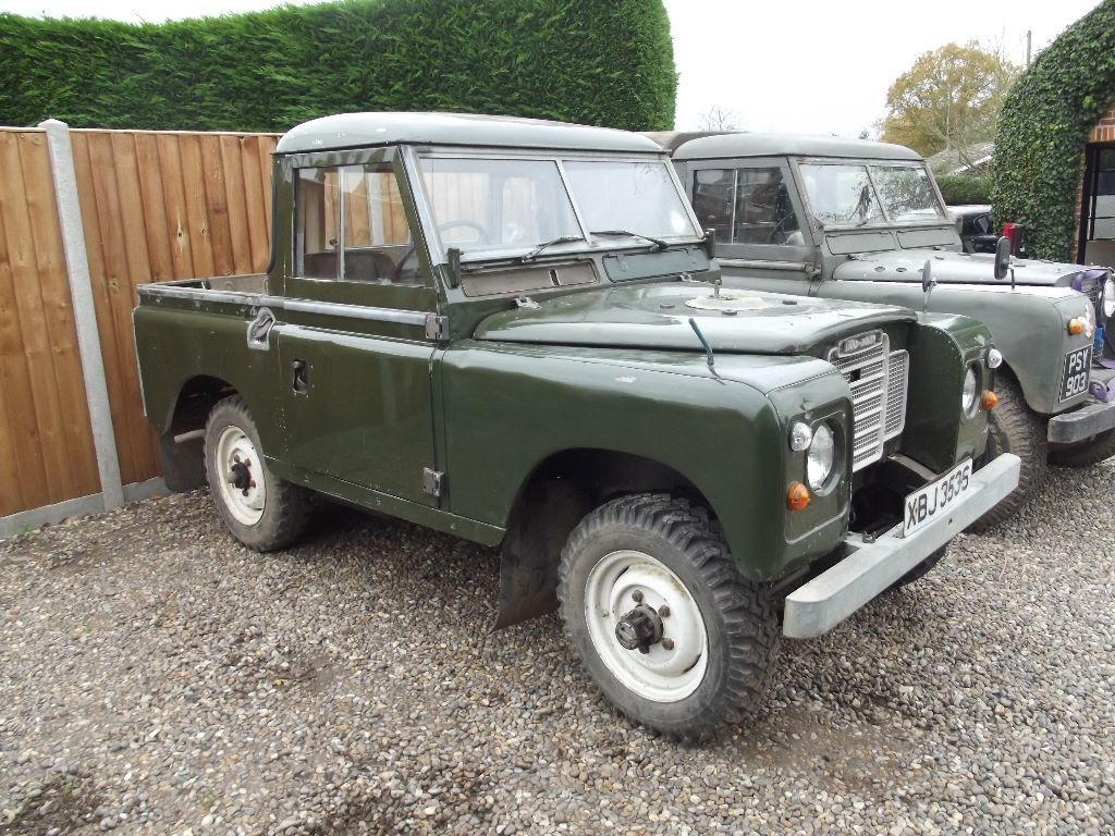 land rover series 88 pick up diesel in norwich norfolk gumtree. Black Bedroom Furniture Sets. Home Design Ideas