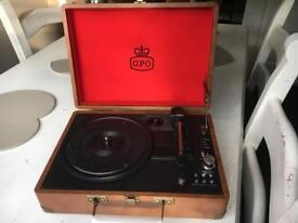 Gpo record player ONO