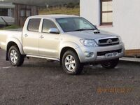 2011 TOYOTA HILUX INVINCIBLE 3.0 TD, SILVER, PARK SENSORS, TOW PACK, SERVICE HISTORY