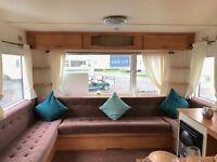 Very Cheap Starter Static Caravan For Sale At Sandylands Near Craig Tara Scotland