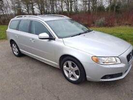 2008 VOLVO V70 2.4 D5 SE LUX GEARTRONIC 139K WITH F/S/H IN EXCELLENT CONDITION