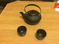 Nice tea pot with cups
