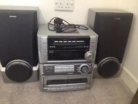CD/Radio and Tape Player