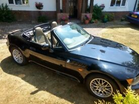BMW Z3 year 2000 only 64,000 miles. 12 months MOT. Good condition for year. Great summer sports car.