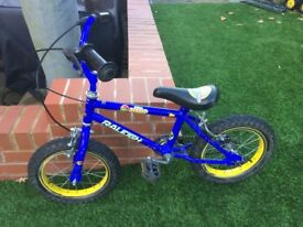 "14"" bike with stabilisers"