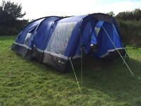 Tent plus camping equipment