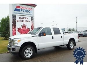 2016 Ford Super Duty F-250 XLT Crew Cab 4x4 - 42,246 KMs, 6.2L