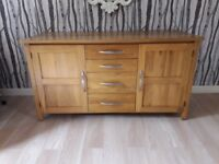 Solid Oak Sideboard from Oak Furniture Land EXCELLENT Condition