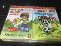 Horrid Henry Early reader books set of 10 brand new RRP£49.90