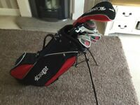 Cougar left handed golf clubs and bag
