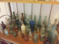 Old bottles large collection