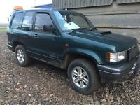 Isuzu trooper 3.1 1998