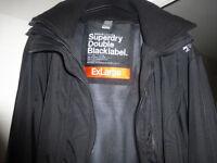 SUPERDRY Windcheater - Mens Double Black Label