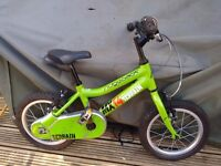 Green Ridgeback MX14 Terrain bike in very good condition